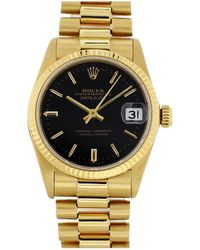 Rolex - Oyster Perpetual 31mm Gold Yellow Gold - Lyst