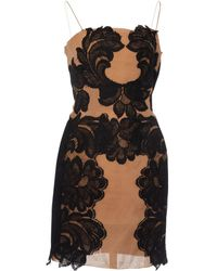 Lanvin - Black Silk Dress - Lyst
