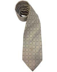 Loewe - Vintage Grey Silk Ties - Lyst