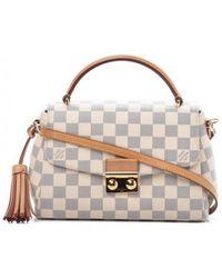 Louis Vuitton - Croisette White Cloth Handbag - Lyst