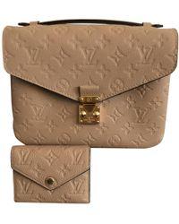 Louis Vuitton - Metis Leather Handbag - Lyst