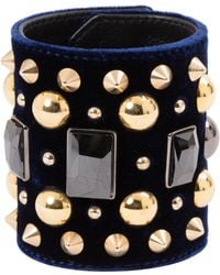 Givenchy - Pre-owned Black Metal Bracelet - Lyst