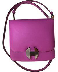 Hermès - Leather Crossbody Bag - Lyst