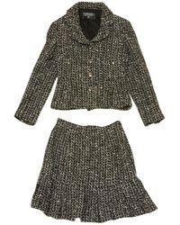 Chanel - Tweed Suit Jacket - Lyst
