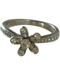 Van Cleef & Arpels - Pre-owned White Gold Ring - Lyst