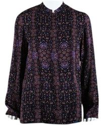 33499fc6bbb Hermès Silk Tunic - Lyst