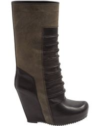 Pre-owned - Leather biker boots Rick Owens Discount Official Site Cheap Store Find Great ofVYMrhJ