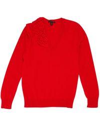 Louis Vuitton - Red Cashmere Knitwear - Lyst