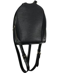 Louis Vuitton - Leather Backpack - Lyst