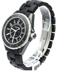 Chanel - J12 Automatique Ceramic Watch - Lyst
