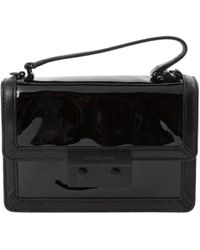 Lauren By Ralph Lauren Delaney Leather Clutch Black in Black - Lyst 31a9653e36