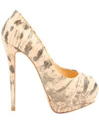 e4b47a1f149 Giuseppe Zanotti Lizard-embossed Betty Platform Sandals 120 in ...