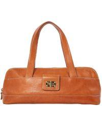 Canvas Big Pony Tote. £99. Ralph Lauren · Ralph Lauren Collection - Camel  Leather Handbag - Lyst 3fecbb44757ab