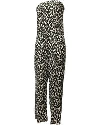 Stella McCartney - Green Synthetic Jumpsuits - Lyst
