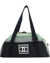 Chanel - Cloth Travel Bag - Lyst