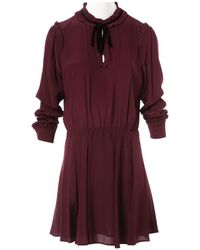 The Kooples - Pre-owned Silk Mid-length Dress - Lyst