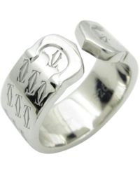 Cartier | C White Gold Ring | Lyst