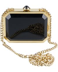 60c4545b7c56 Chanel - Black Plastic Handbag - Lyst