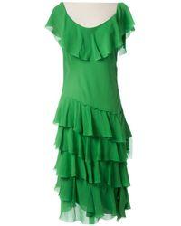 Sonia Rykiel - Silk Mid-length Dress - Lyst