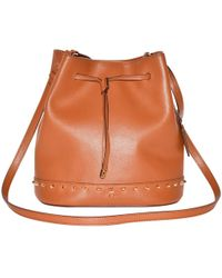 Ralph Lauren Collection - Pre-owned Leather Shoulder Bag - Lyst