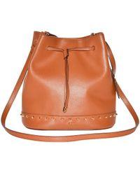 Ralph Lauren Collection - Leather Shoulder Bag - Lyst