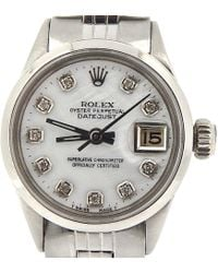 Rolex - Pre-owned Vintage Other Steel Watches - Lyst