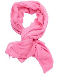 Étoile Isabel Marant - Pre-owned Pink Silk Scarf - Lyst