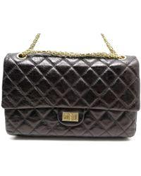 Chanel - Sac à main 2.55 en cuir - Lyst