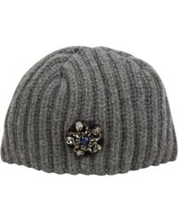 Lanvin - Pre-owned Wool Beanie - Lyst