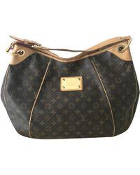 Louis Vuitton - Galliera Leinen Handtaschen - Lyst