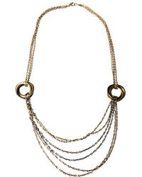 Cartier - Trinity Yellow Gold Necklace - Lyst