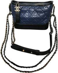 Chanel - Gabrielle Leather Crossbody Bag - Lyst