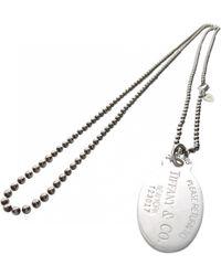 Tiffany & Co. - Return To Tiffany Silver Long Necklace - Lyst