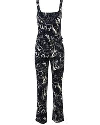 Moschino - Pre-owned Vintage Blue Cotton Trousers - Lyst