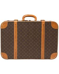 Louis Vuitton - Pre-owned Cloth Travel Bag - Lyst