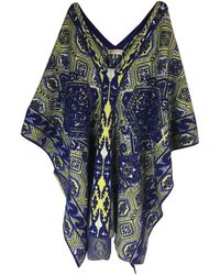 Emilio Pucci - Pre-owned Wool Cape - Lyst