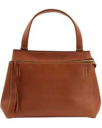 Céline Edge Brown Leather Handbag