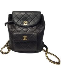 c920cf872f15 Chanel - Pre-owned Timeless Leather Backpack - Lyst