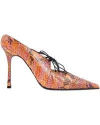 Chanel - Python Heels - Lyst