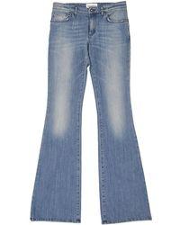 Emilio Pucci - Blue Cotton Jeans - Lyst