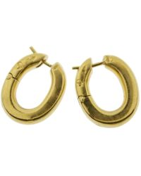 Pomellato - Pre-owned Vintage Yellow Yellow Gold Earrings - Lyst