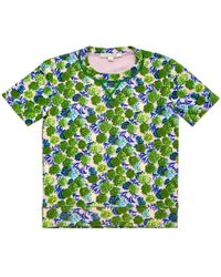 Marc Jacobs - Green Cotton Top - Lyst