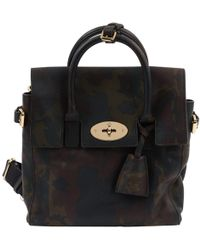 Lyst - Mulberry Large Cara Delevingne Quilted Nappa Bag in Black c2a9b8fa034e1