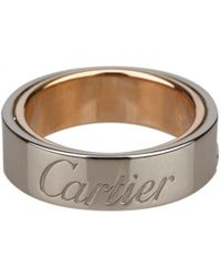 Cartier | White Gold Ring | Lyst