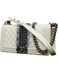 Chanel - Boy Leather Handbag - Lyst