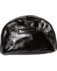 Longchamp - Pre-owned Patent Leather Clutch Bag - Lyst
