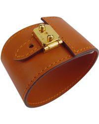 Hermès - Orange Leather - Lyst