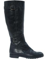 Blumarine Black Leather
