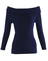 Michael Kors - Blue Viscose Knitwear - Lyst