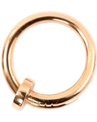 Cartier - Pre-owned Juste Un Clou Pink Gold Ring - Lyst